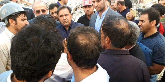 جزئیات بازدید وزیر راه و شهرسازی از مناطق زلزلهزده استان کرمانشاه