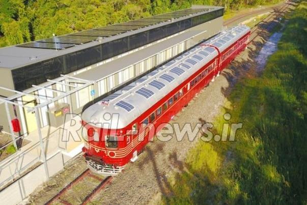 آغاز به کار قطار خورشیدی درنیوساوث استرالیا قطار خورشیدی