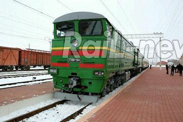 بازدید هیئت روسی از مسیر ریلی گلوگاه – گرمسار در راه آهن شمال