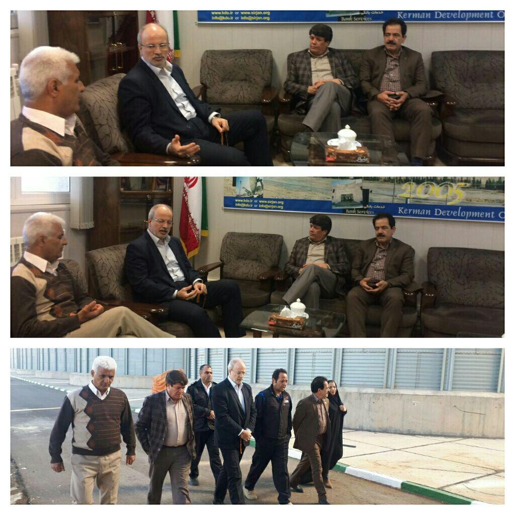 بازدیدمهندس محمدزاده عضوهیئت مدیره راه آهن ج.ا.ا.ازاداره کل راه آهن هرمزگان