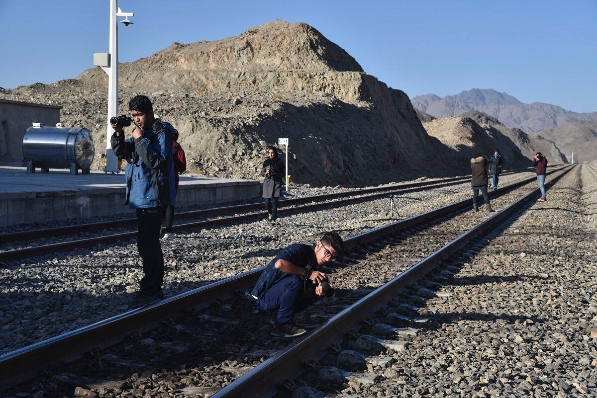 نخستين تورعكاسي راه آهن جنوب شرق به ايستگاه زاهدان بازگشت