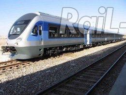 120 كيلومتر خط قطار برقى حومه اى در دست ساخت است