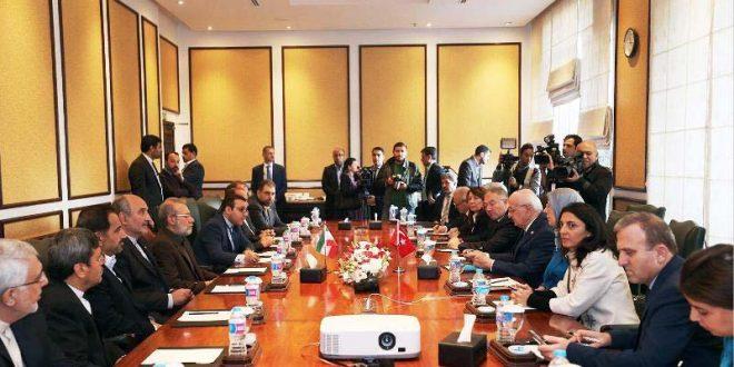 ایران از سرمایه گذاری ترکیه در راهسازی و ریلی حمایت می کند