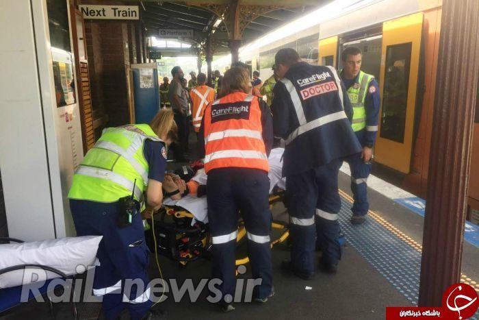 سانحه برخورد قطار با مانع در استرالیا