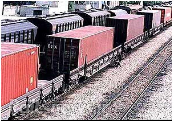 ورود ششمین قطار کانتینری به گلستان