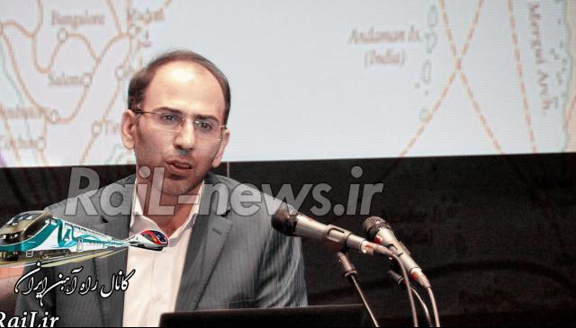 عملکرد راه آهن ایران به ۴۵ میلیون تن رسید