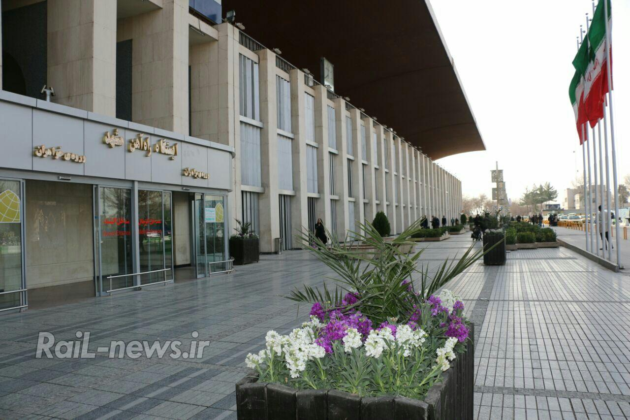 رشد ۹ درصدی مسافران و زائران خارجی قطارهای منتهی به مشهد مقدس، در ۹ ماهه نخست سال