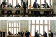 امضای تفاهم همکاری های سیاسی و حمل و نقل ریلی بین تهران و مادرید