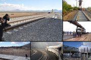 ۶ پروژه راهآهن شمال شرق 1 به بهرهبرداری رسید