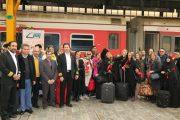 افتتاح اولین قطار گردشگری در مسیر مثلث طلایی گردشگری ایران(فارس، اصفهان، یزد)