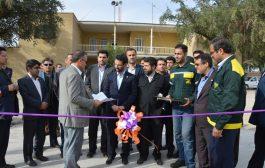 افتتاح سینی دوار ایستگاه اندیمشک بدست وزیرارتباطات