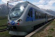 حرکت آزمایشی قطار در میانه - بستان آباد همزمان با سفر رییس جمهور