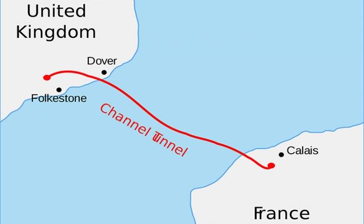 آشنایی با تونل زیر اقیانوس با نام کانال (مانش)