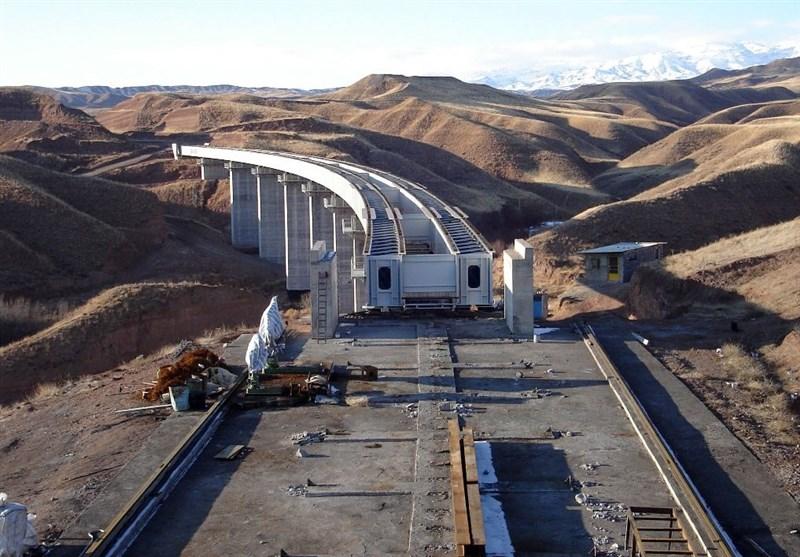 راه آهن اردبیل - میانه زودتر از راه آهن رشت آستارا به بهره برداری میرسد
