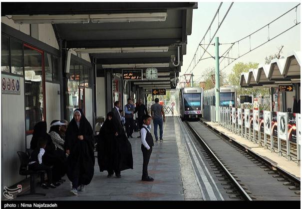 مشکلات خطوط ۹گانه قطارهای حومهای استان تهران برطرف شود