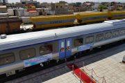راه اندازي رسمي قطار ريل باس تاکستان _تهران و بالعکس
