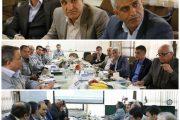 نشست مشترک مدیران راه آهن با مدیران شرکت فولاد مبارکه