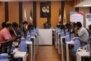 جلسه مشترک و هم اندیشی بین سازمان بنادرودریانوردی و راه آهن در اداره کل راه آهن هرمزگان