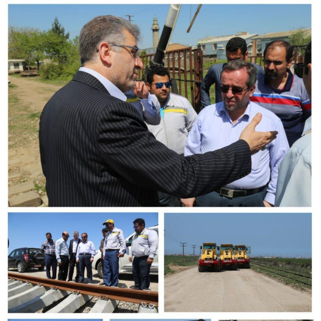 طرح دوخطه کردن راهآهن بندرگز به سبزدشت به بهرهبرداری میرسد