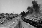 حماسه جاودانه میدان راه اهن خرمشهر در دهمین روز از مقاومت