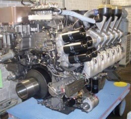 رونمایی از موتور دیزل ملی با قدرت ۱۳۰۰ اسب بخار