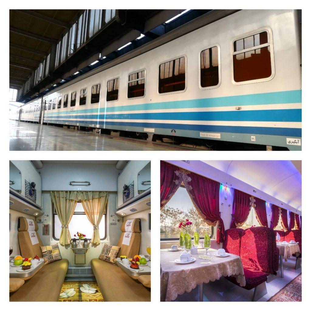 راه اندازی قطار ۵ ستاره لوکس در مسیر اهواز-اندیمشک- تهران