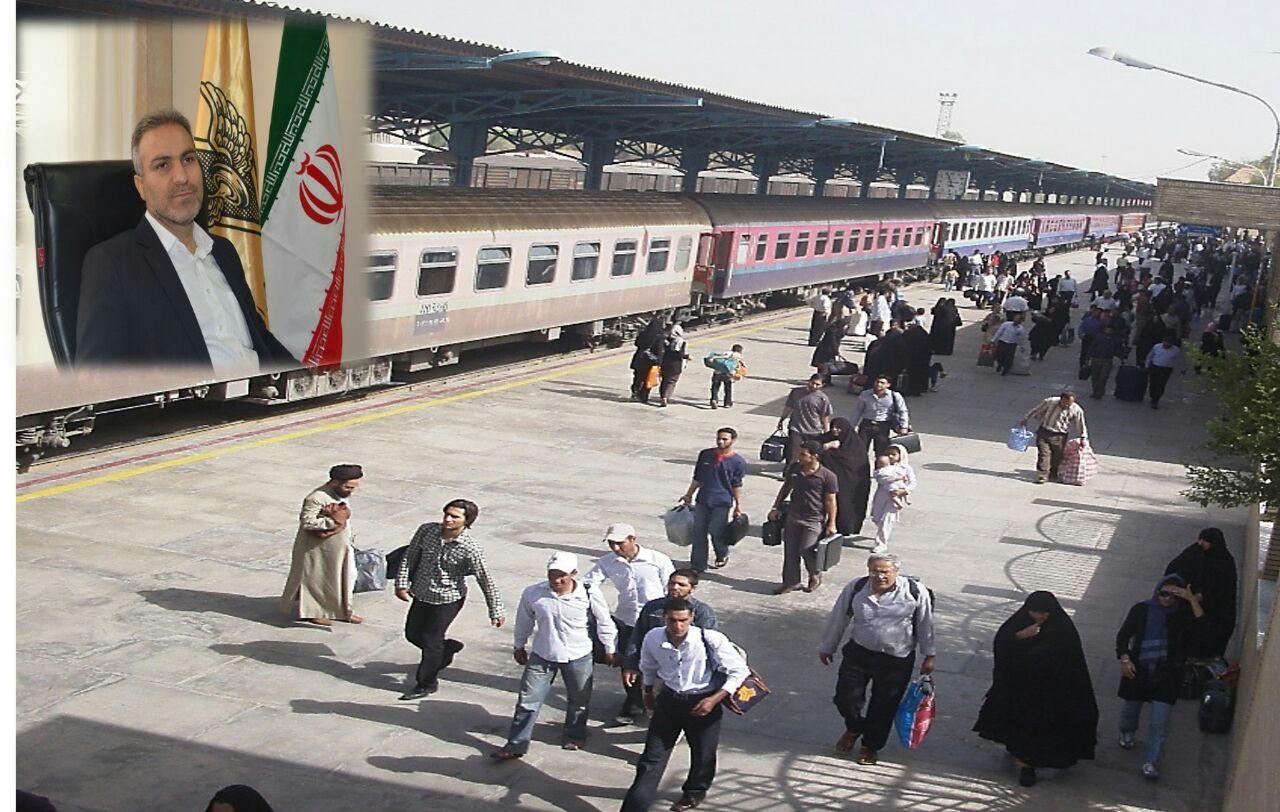 افزایش13 درصدی مسافر در اداره کل راه آهن زاگرس