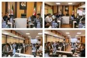 جلسه مشترک حمل و نقل در اداره کل راه آهن هرمزگان