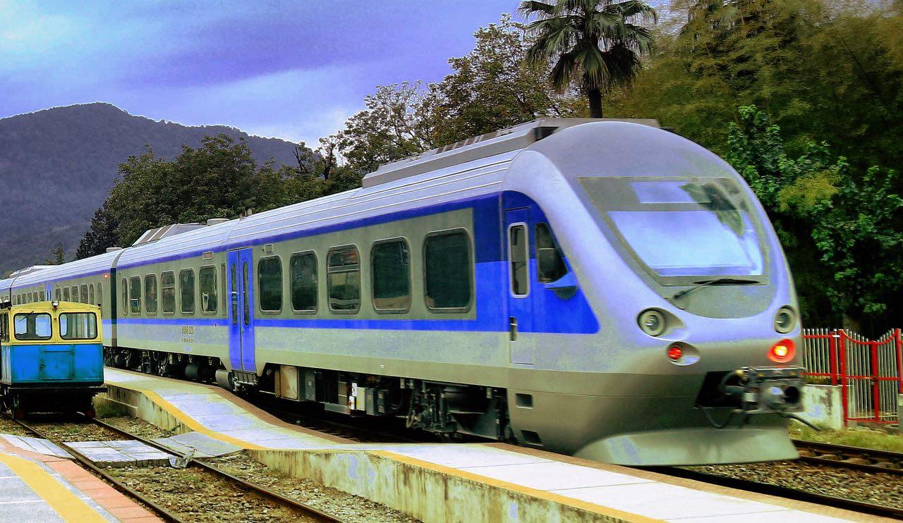 قطار ریل باس اندیمشک – درود بهرهبرداری شد