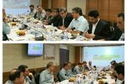 نشست مشترک بین مدیران راه آهن و فولاد هرمزگان برگزار شد