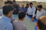 بازديد معاونين وزير راه و استاندار سیستان و بلوچستان از پروژه احداث راهآهن چابهار - زاهدان/ نياز ٤ هزار ميليارد تومانی برای تكميل پروژه
