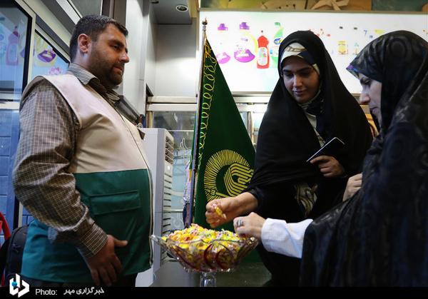 گزارش تصویری از مراسم بدرقه زائران امام رئوف در ایستگاه راه آهن تهران