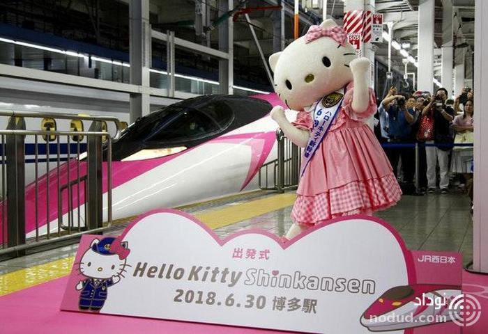 ابتکار جالب ژاپنی ها در خلق دخترانه ترین قطار دنیا + عکس ها