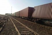 نقص فنی واگن حامل شمش آهن در راهآهن شرق عامل مسدودی محور شرق