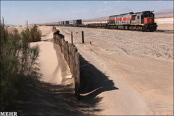 بهسازی خط راهآهن شرق بدون مسدودی خط و توقف وسایل نقلیه ریلی