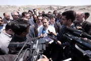بازدید وزیر راه و شهرسازی از ۴ پروژه حمل و نقلی شاهرود
