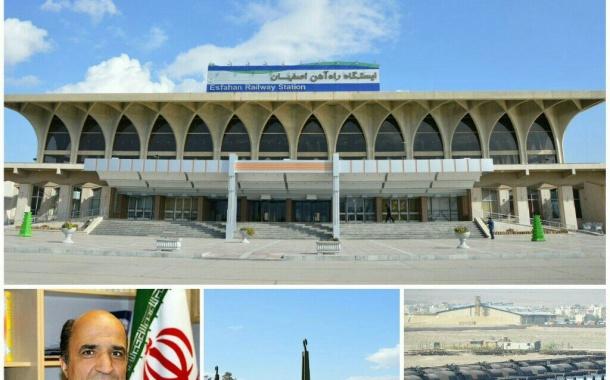 بهره برداری از 12 طرح زیر بنایی راه آهن اصفهان در هفته دولت