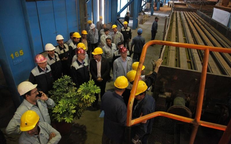 تحویل 3 هزار تن ریل تولید ملی به راه آهن/ تعامل برای تولید ریل مطابق با به روز ترین استانداردها