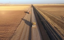 رونق اقتصاد منطقه با 2 خطه شدن راهآهن قزوين - زنجان