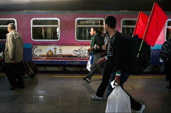 آمادگی خط ریلی راهآهن غرب کشور برای انتقال زائران اربعین به کرمانشاه