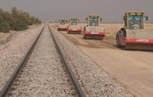 زیرسازی خط آهن کرمانشاه -اسلام آباد غرب 62 درصد پیشرفت فیزیکی دارد