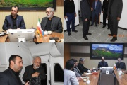 عضو کمیسیون عمران مجلس و نماینده محترم مردم خرم آباد و چگنی از راه آهن لرستان بازدید کردند.