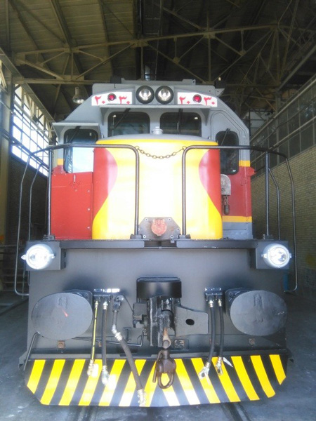 پس از بازسازی و افزایش قدرت در داخل ایران؛ ششمین لکوموتیو GE به ناوگان راه آهن پیوست