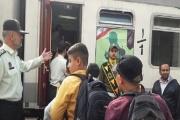قطار نظم و دوستی در تبریز به راه افتاد