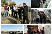 مشاور و بازرس سازمان جهانی یونسکو از ایستگاه راه آهن تهران بازدید کرد
