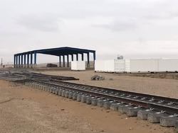 پیشرفت فیزیکی ۹۰درصدی راه آهن خواف به هرات