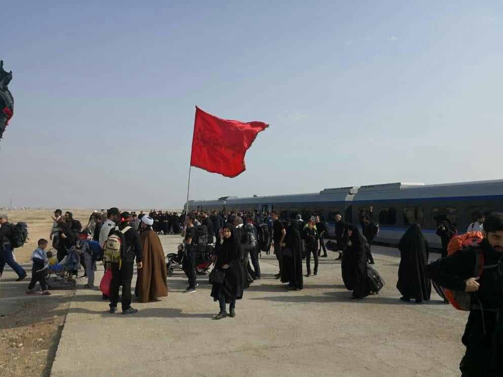 یک رام قطار فوق العاده به مسیر کرمانشاه اضافه شد