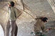 مرمت ساختمانهای گمرک و راه آهن میرجاوه
