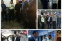 بازدید مدیر کل و معاونین اداره کل راه آهن تهران بمناسبت روز نیروی انتظامی از پلیس مستقر در ایستگاه راه آهن تهران