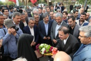 بازدید وزیر راه و شهرسازی از پروژههای راهآهن تهران- گرمسار/ گزارش تصویری